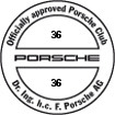 Officially approved Porsche Club 36